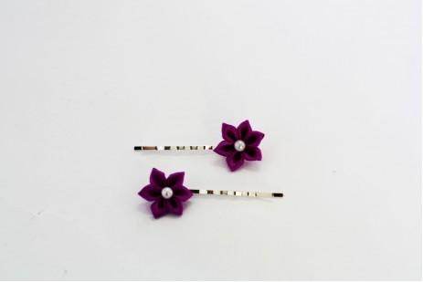 Originální květy do vlasů 120
