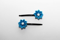 Originální květy do vlasů 105