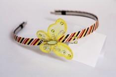 Čelenka s motýlem 3024