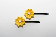 Originální květy do vlasů 111